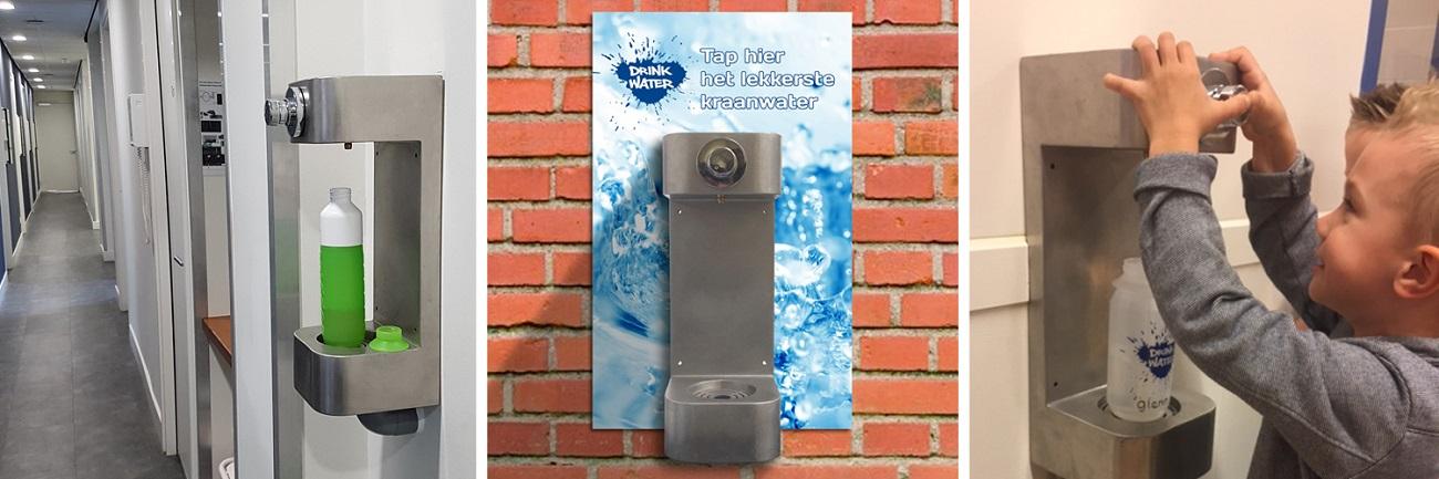 KWTP watertappunt - Enkelvoudige BidonVuller