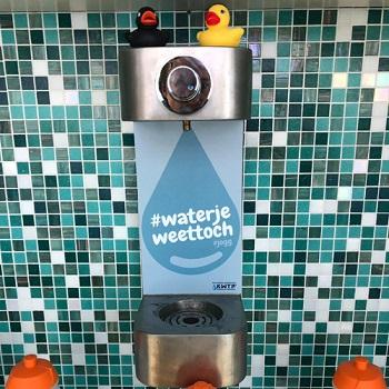 KWTP watertappunt - BidonVuller