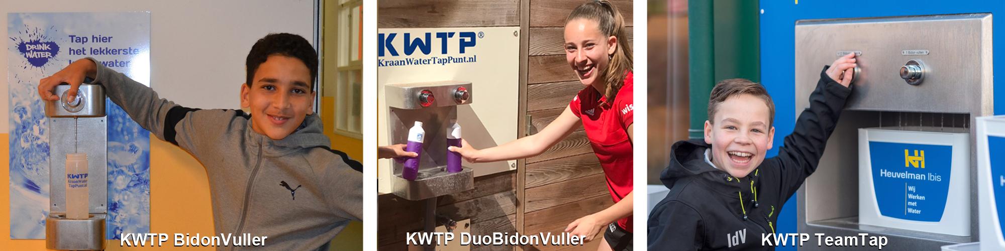 KWTP watertappunten kraanwatertappunt